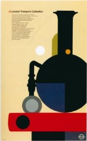 Vintage London underground poster - London transport collection